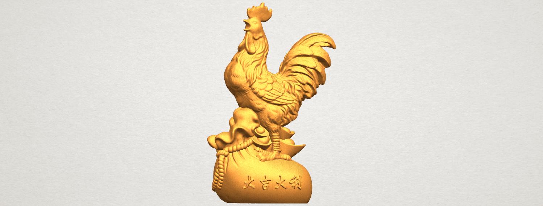 TDA0321 Cock A01.png Télécharger fichier STL gratuit Coq 01 • Design pour impression 3D, GeorgesNikkei