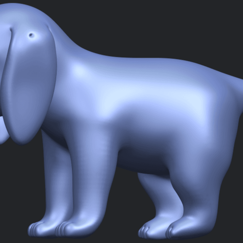 15_TDA0533_Puppy_01B06.png Download free STL file Puppy 01 • 3D printer template, GeorgesNikkei