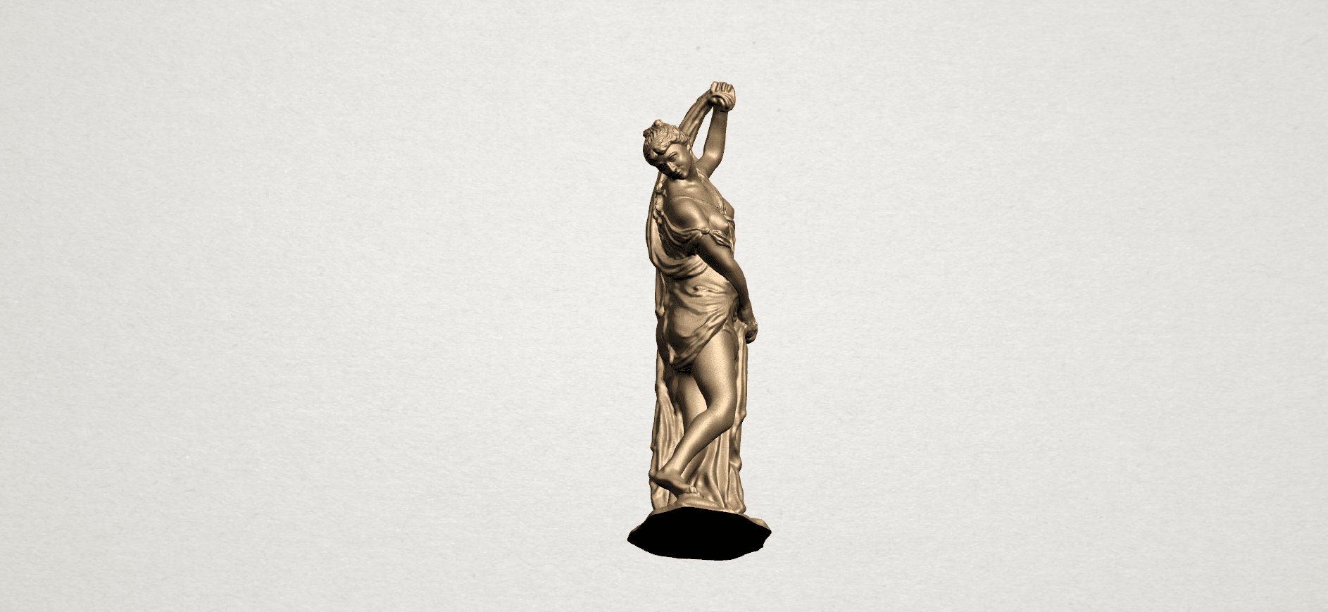 Naked Girl (vii) A08.png Download free STL file Naked Girl 07 • 3D printable design, GeorgesNikkei