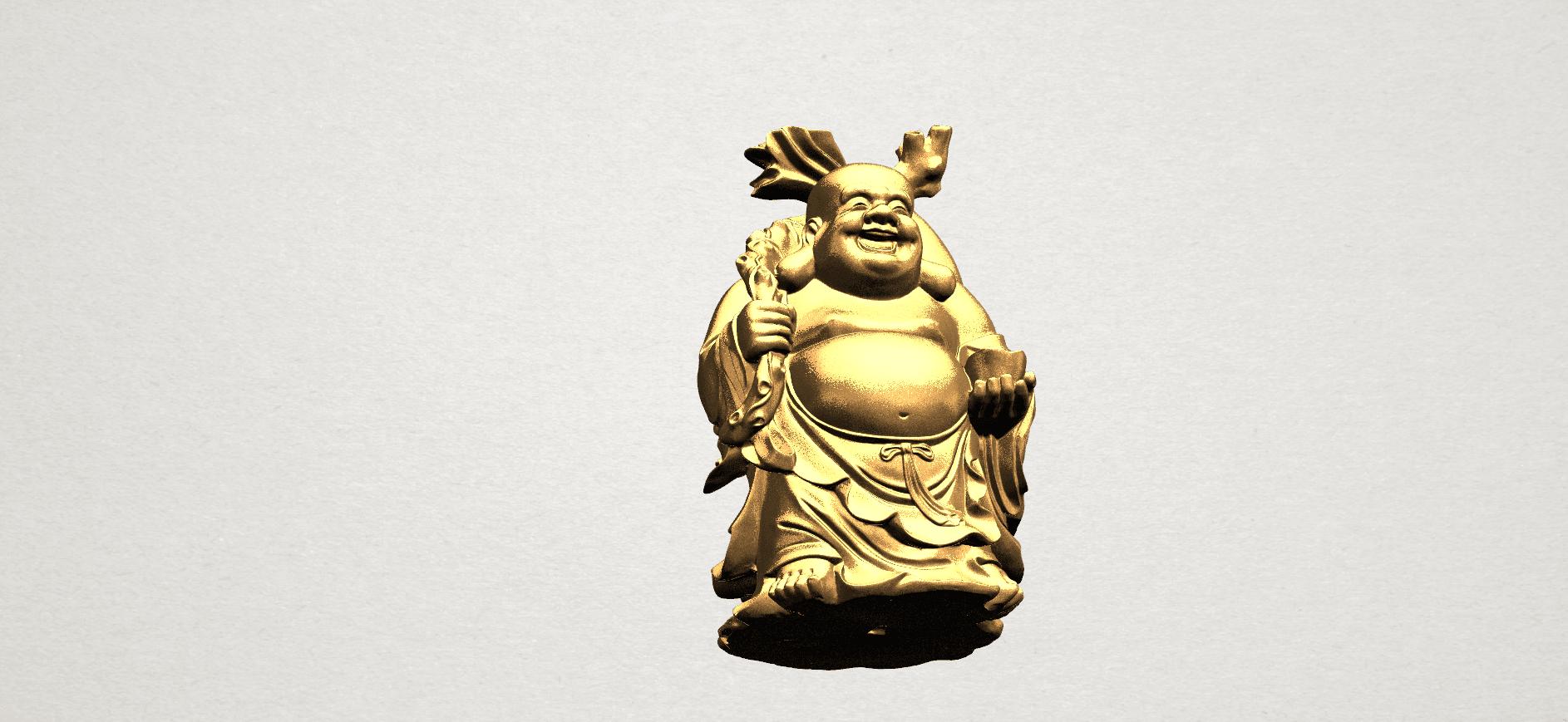 Metteyya Buddha 05 - 88mm - A10.png Télécharger fichier STL gratuit Bouddha Metteyya 05 • Objet imprimable en 3D, GeorgesNikkei