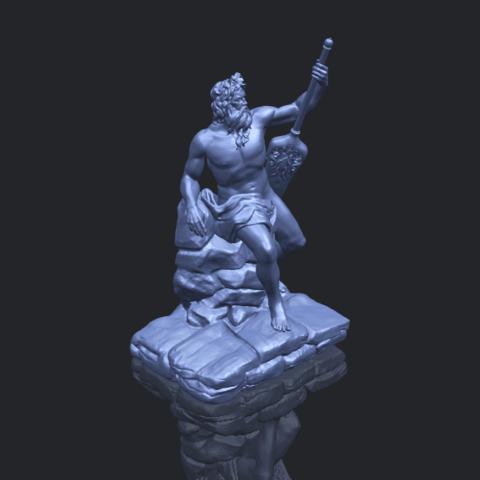 14_Naked_Warrior_88mm_(repaired)B00-1.png Télécharger fichier STL gratuit Guerrier nu • Plan pour impression 3D, GeorgesNikkei