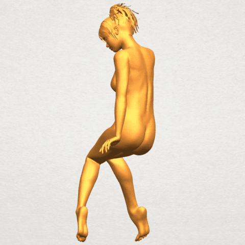 A05.png Download free STL file Naked Girl E01 • 3D printer template, GeorgesNikkei