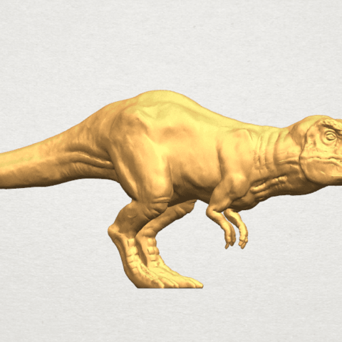TDA0611 Tyrannosaurus A05.png Download free STL file Tyrannosaurus • 3D printing model, GeorgesNikkei