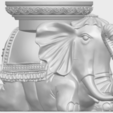 Free STL Elephant Table, GeorgesNikkei
