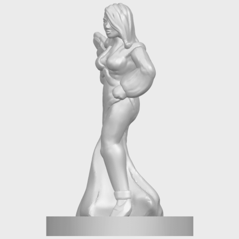 12_TDA0160_Beautiful_Anime_Girls_05_-_88mmA03.png Download free STL file Beautiful Anime Girl 05 • Template to 3D print, GeorgesNikkei