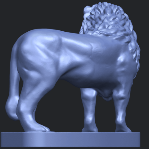 02_TDA0313_Lion_(iii)B05.png Download free STL file Lion 03 • 3D printable template, GeorgesNikkei