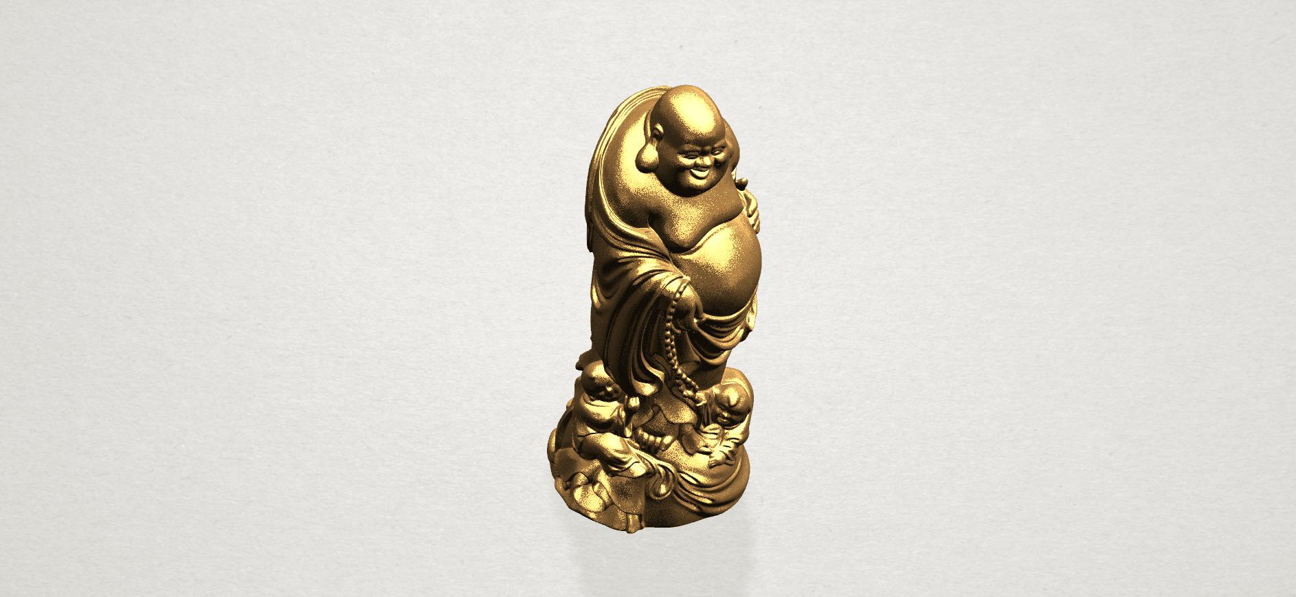 TDA0070 Metteyya Buddha 03 - 88mm - A10.png Download free STL file Metteyya Buddha 03 • 3D printing object, GeorgesNikkei