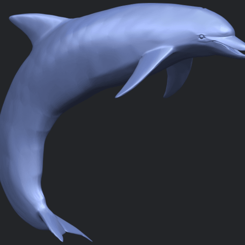 27_TDA0613_Dolphin_03B07.png Download free STL file Dolphin 03 • Design to 3D print, GeorgesNikkei