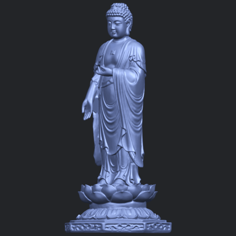 10_TDA0176_Gautama_Buddha_Standing_iiiB05.png Download free STL file Gautama Buddha Standing 03 • 3D printing design, GeorgesNikkei