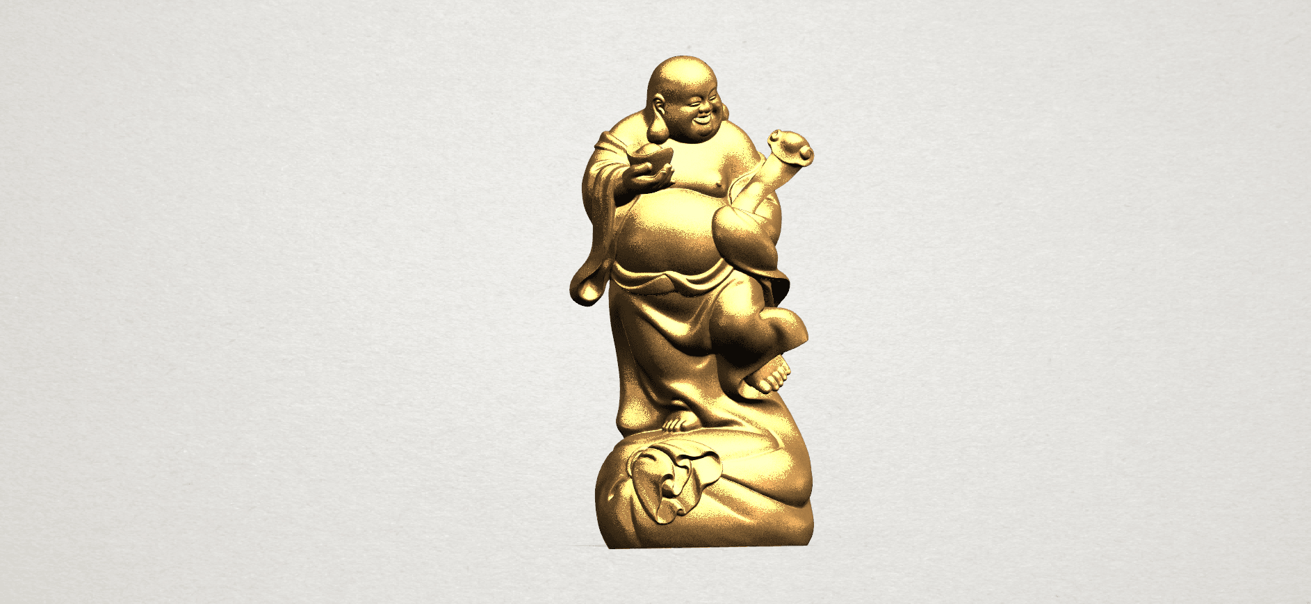 TDA0070 Metteyya Buddha 04 - 88mm - A01.png Download free STL file Metteyya Buddha 04 • 3D printable object, GeorgesNikkei