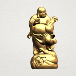 Download free 3D printer model Metteyya Buddha 04, GeorgesNikkei
