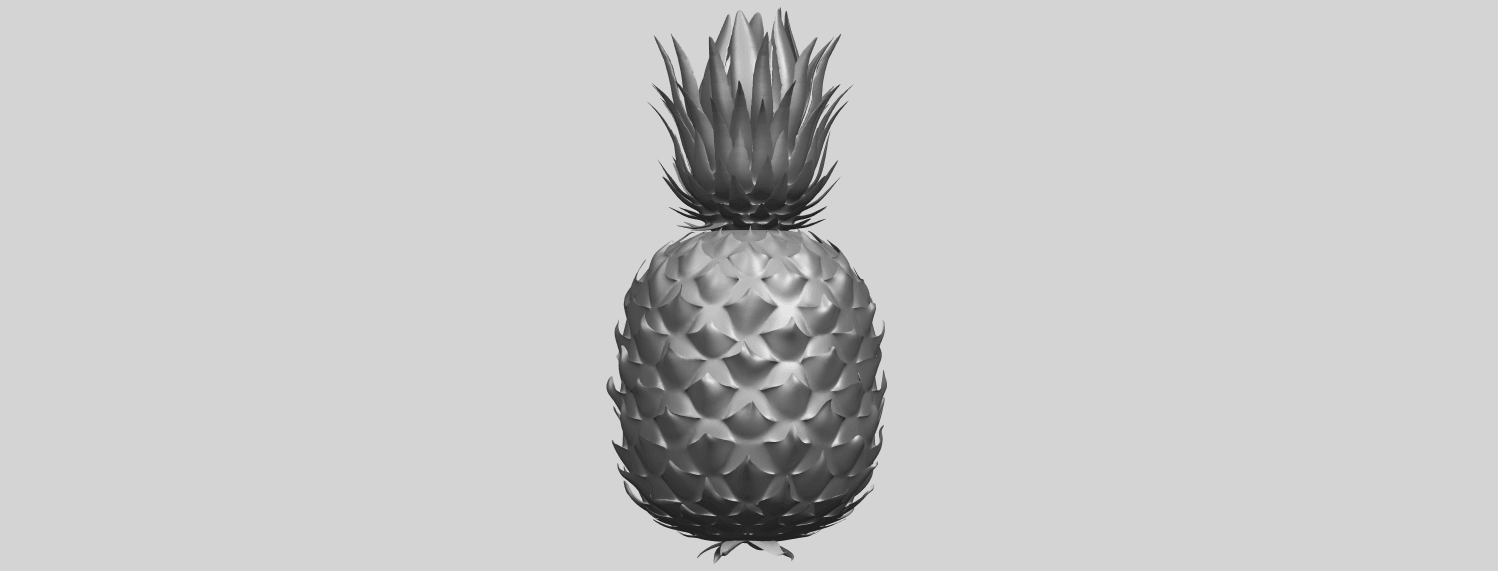 15_TDA0552_PineappleA05.png Download free STL file Pineapple • 3D printer design, GeorgesNikkei