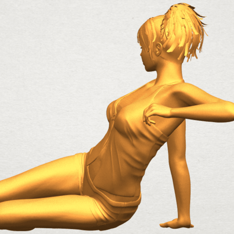 A04.png Download free STL file Naked Girl F08 • Object to 3D print, GeorgesNikkei