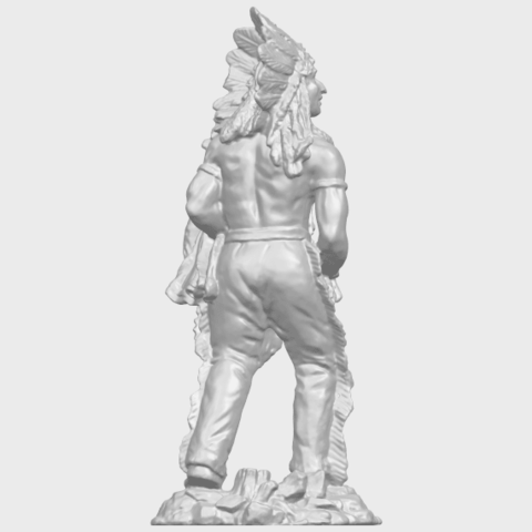 13_TDA0240_Red_IndianA07.png Download free STL file Red Indian • 3D print template, GeorgesNikkei