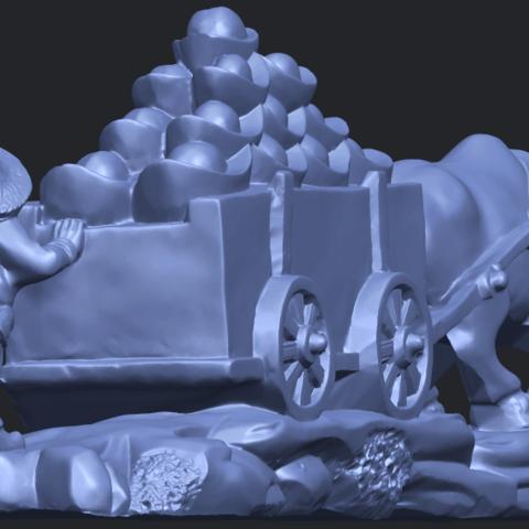 17_TDA0315_Golden_CarB04.png Download free STL file Golden Car • 3D printer template, GeorgesNikkei