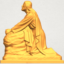 Download free 3D printing designs Jesus 07, GeorgesNikkei