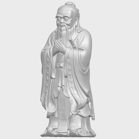 13_TDA0341_ConfuciusA02.png Download free STL file Confucius • 3D printable model, GeorgesNikkei