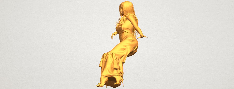 A03.png Télécharger fichier STL gratuit Fille Nue I02 • Objet à imprimer en 3D, GeorgesNikkei