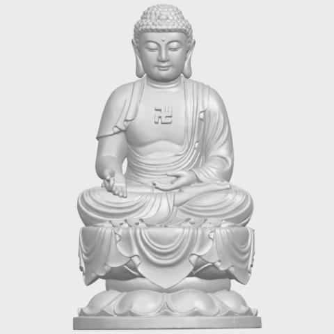 01_TDA0174_Gautama_Buddha_(ii)__88mmA01.png Download free STL file Gautama Buddha 02 • 3D print template, GeorgesNikkei