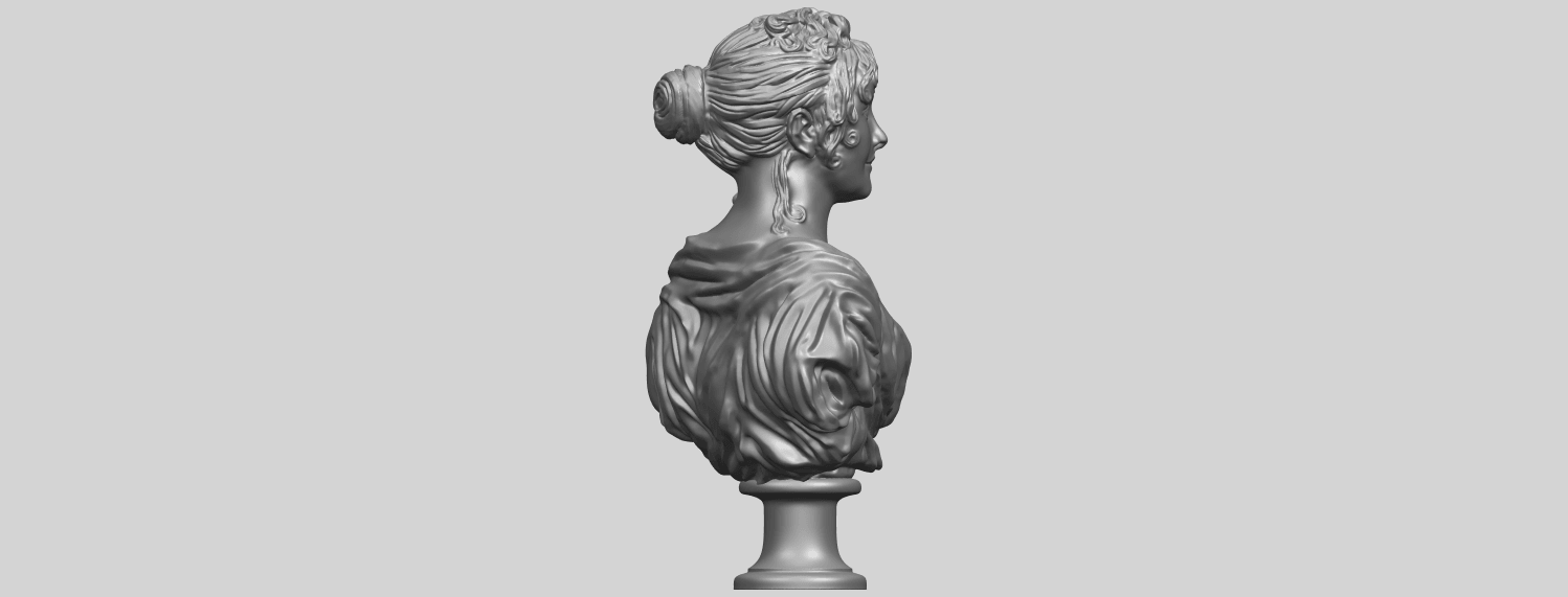 24_TDA0201_Bust_of_a_girl_01A08.png Download free STL file Bust of a girl 01 • Object to 3D print, GeorgesNikkei