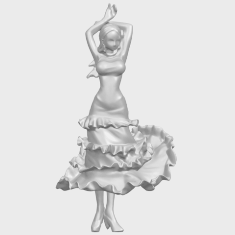 23_Girl_with_Dress_80mm-A04.png Download free STL file Girl with Dress • Object to 3D print, GeorgesNikkei