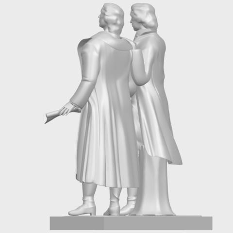 15_Goethe_schiller_80mmA05.png Télécharger fichier STL gratuit Goethe Schiller • Modèle imprimable en 3D, GeorgesNikkei
