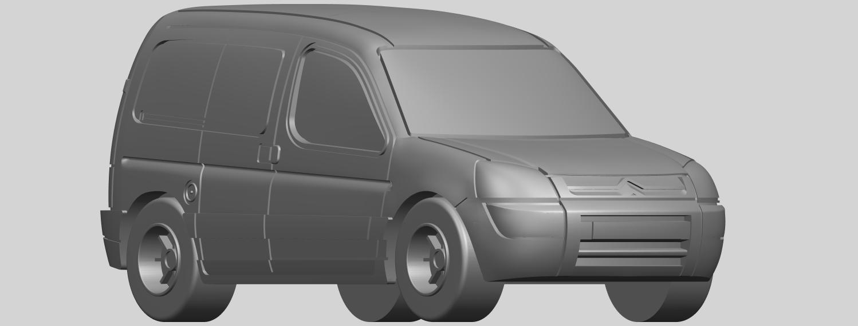 08_TDB002_1-50A08.png Download free STL file Citroen Berlingo Belgium Post • Design to 3D print, GeorgesNikkei