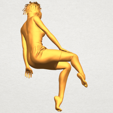 A07.png Download free STL file Naked Girl E07 • 3D printing object, GeorgesNikkei
