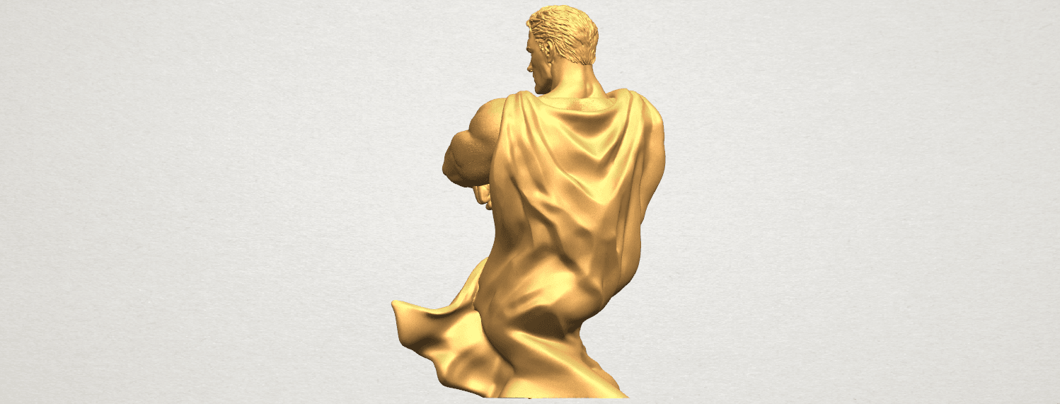 TDA0542 Superman A05.png Download free STL file Superman • 3D printable model, GeorgesNikkei
