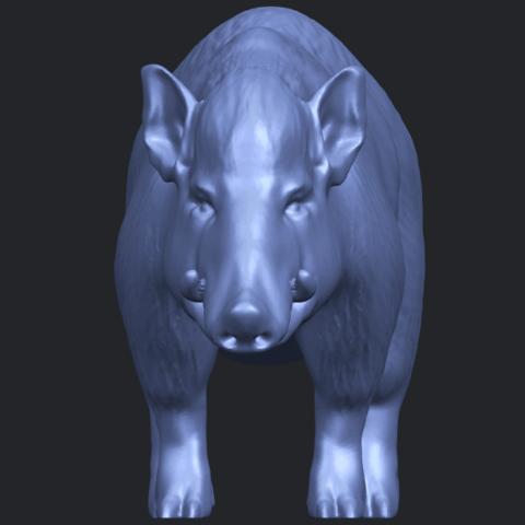 13_TDA0320_Pig_ii_B09.png Download free STL file Pig 02 • 3D printable object, GeorgesNikkei