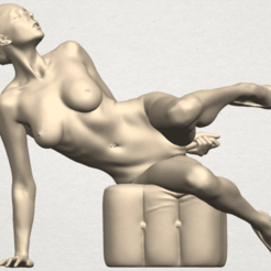 Download free 3D printer model Naked Girl B10, GeorgesNikkei