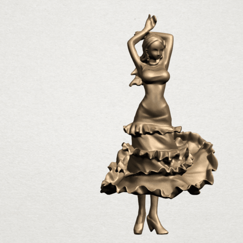 Download free STL file Girl with Dress, GeorgesNikkei