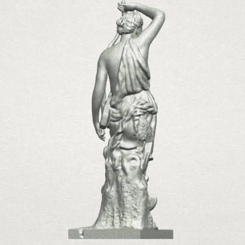 TDA0257 Female Warrior A05.png Download free STL file Female Warrior • 3D print model, GeorgesNikkei