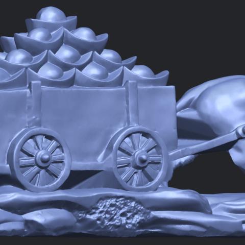 17_TDA0315_Golden_CarB05.png Download free STL file Golden Car • 3D printer template, GeorgesNikkei