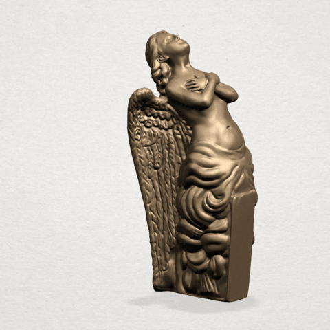 Angel (iii) A04.png Download free STL file Angel 03 • 3D printable object, GeorgesNikkei