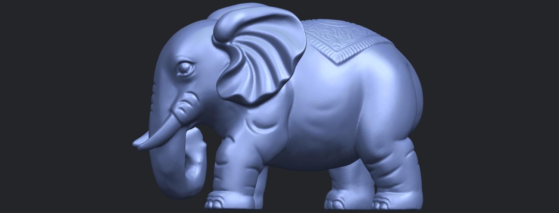 Elephant_03_-122mmB04.png Télécharger fichier STL gratuit Éléphant 03 • Modèle imprimable en 3D, GeorgesNikkei