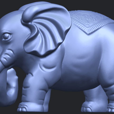 Elephant_03_-122mmB04.png Download free STL file Elephant 03 • 3D printable design, GeorgesNikkei