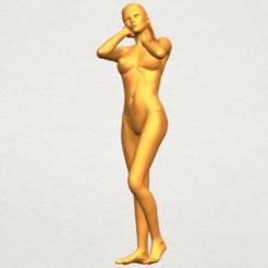 STL Naked Girl D02, Miketon