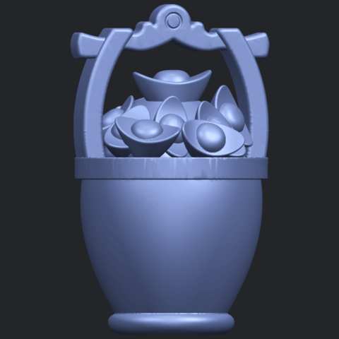 13_TDA0502_Gold_in_BucketB06.png Download free STL file Gold in Bucket • 3D print object, GeorgesNikkei