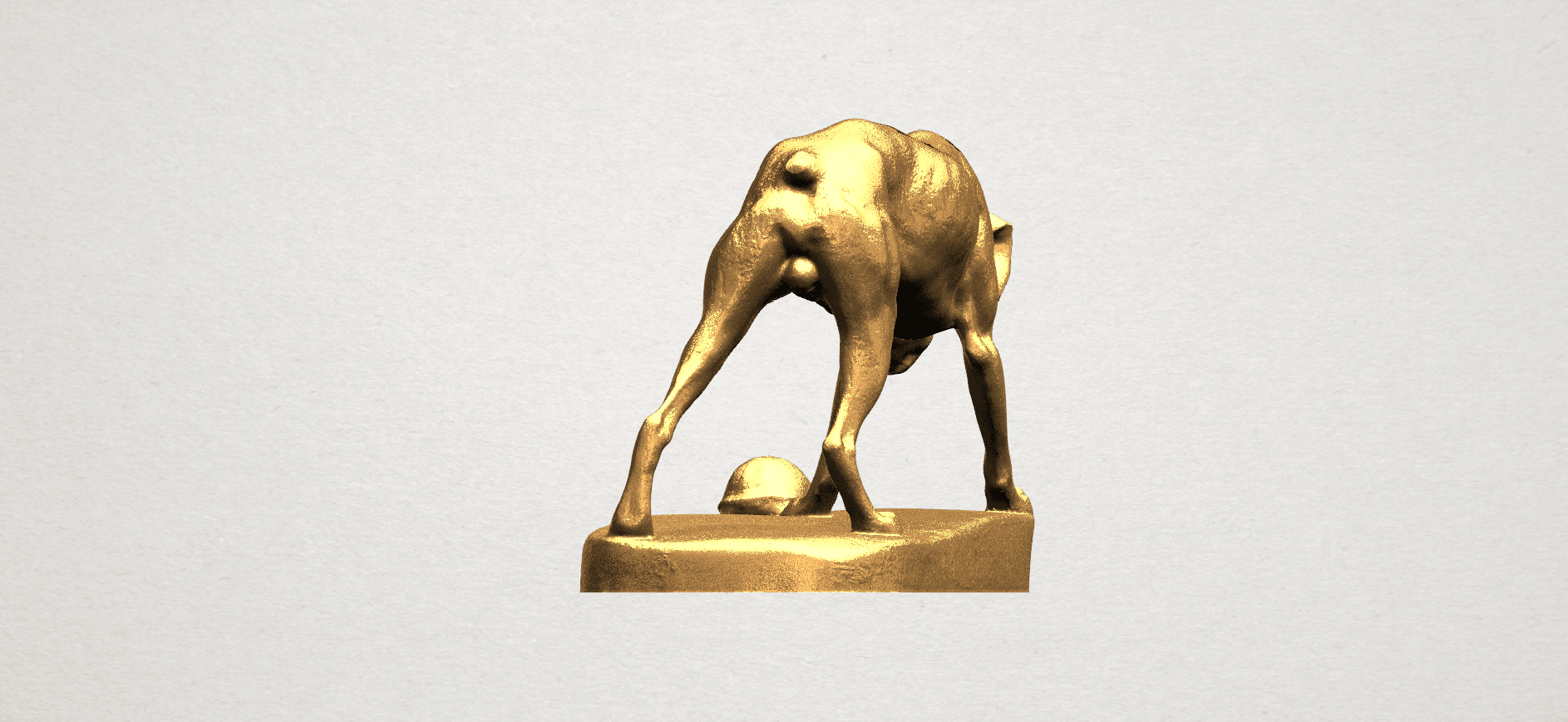 Dog (i) A03.png Télécharger fichier STL gratuit Chien 01 • Plan pour impression 3D, GeorgesNikkei