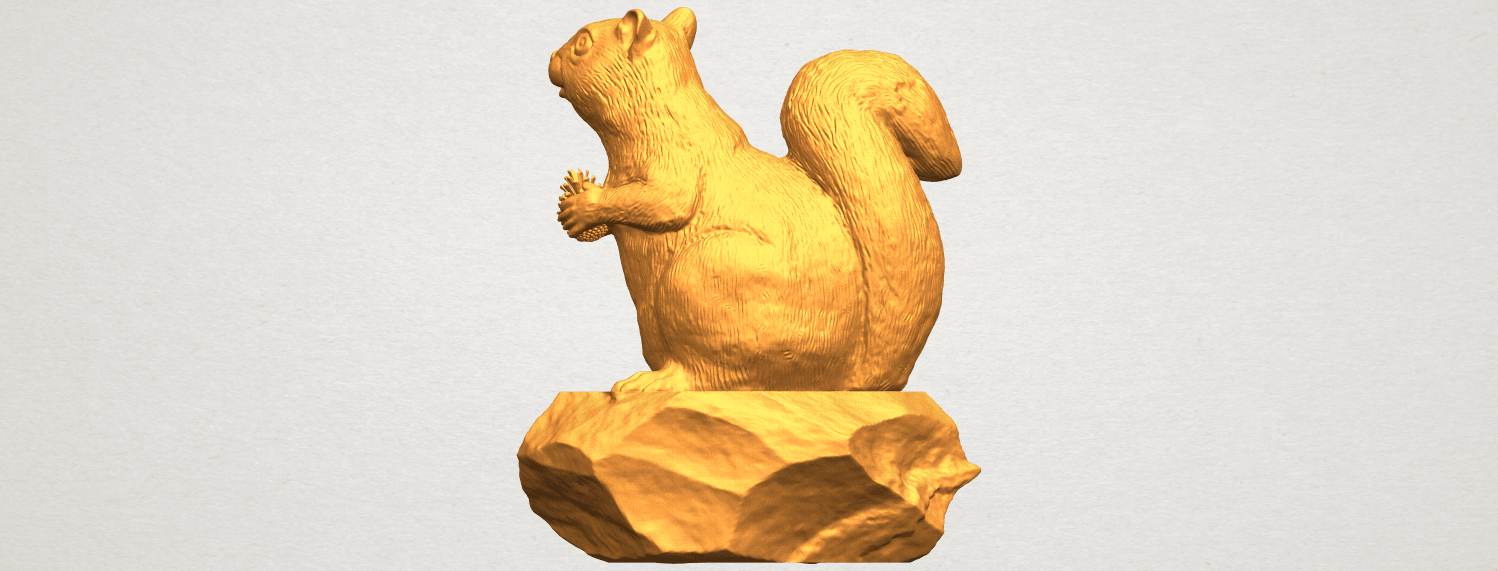 A01.png Download free STL file Squirrel 01 • Model to 3D print, GeorgesNikkei