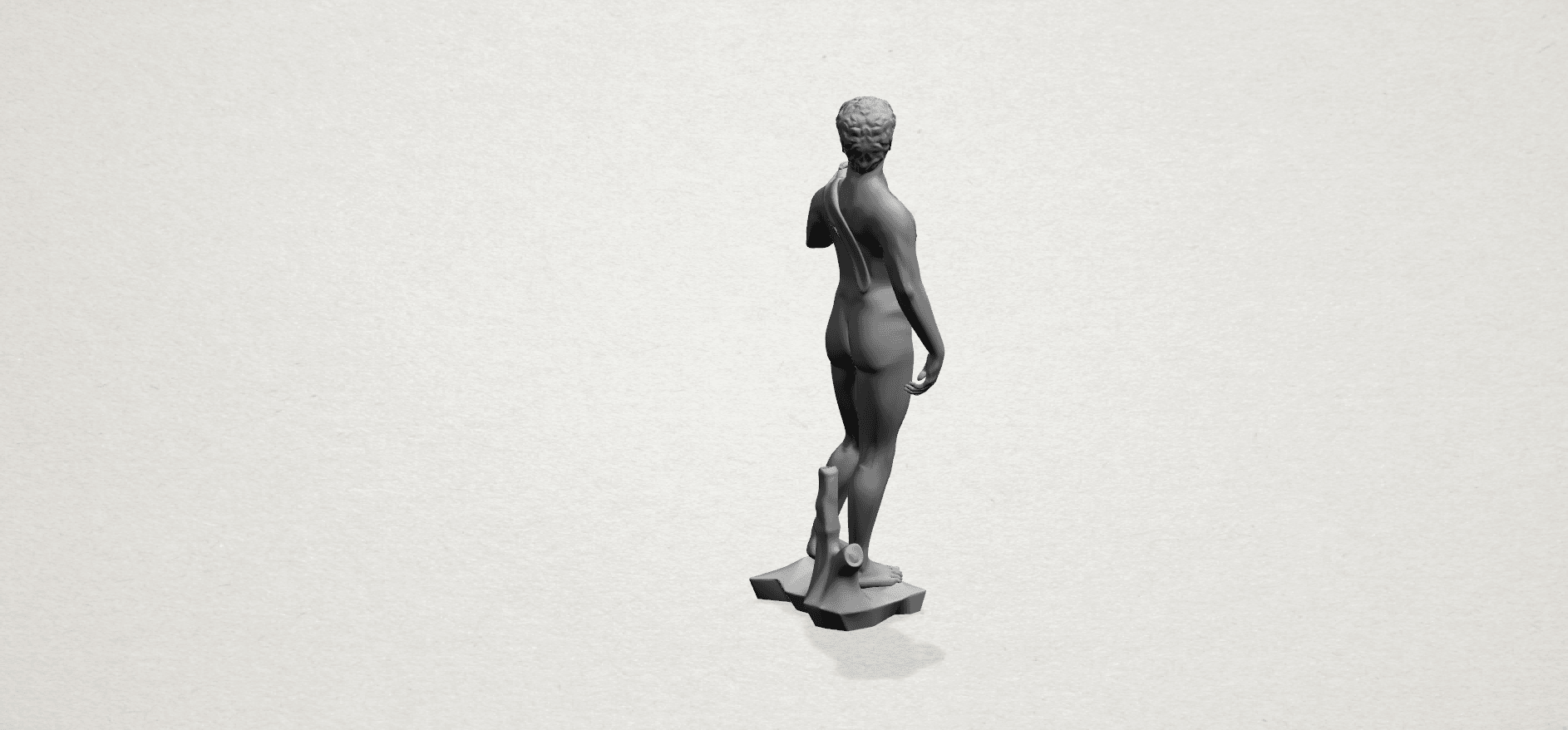 Michelangelo(i) -A03.png Download free STL file Michelangelo 01 • 3D printable template, GeorgesNikkei