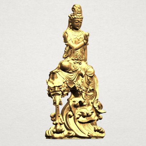 Avalokitesvara Bodhisattva (with fish) 88mm - A07.png Télécharger fichier 3DS gratuit Avalokitesvara Bodhisattva (avec poisson) 01 • Modèle imprimable en 3D, GeorgesNikkei
