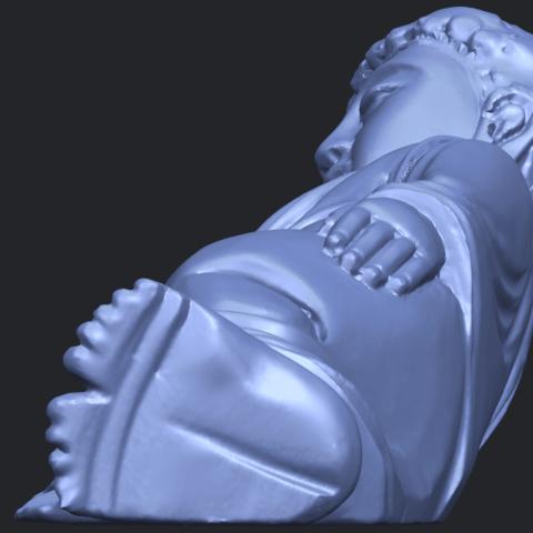 06_TDA0179_Sleeping_Buddha_(i)_88mmB04.png Download free STL file Sleeping Buddha 01 • 3D printable design, GeorgesNikkei