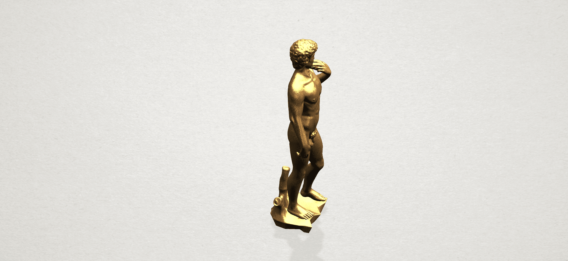 Michelangelo(i) -B05.png Download free STL file Michelangelo 01 • 3D printable template, GeorgesNikkei