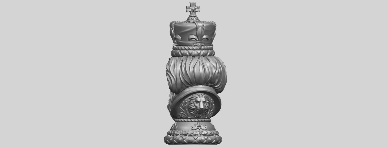 06_TDA0254_Chess-The_KingA06.png Télécharger fichier STL gratuit Chess-Le roi des échecs • Objet pour impression 3D, GeorgesNikkei