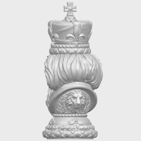 06_TDA0254_Chess-The_KingA06.png Download free STL file Chess-The King • 3D printer model, GeorgesNikkei