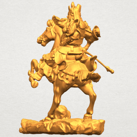 TDA0331 Guan Gong (iv) A02.png Download free STL file Guan Gong 04 • Template to 3D print, GeorgesNikkei