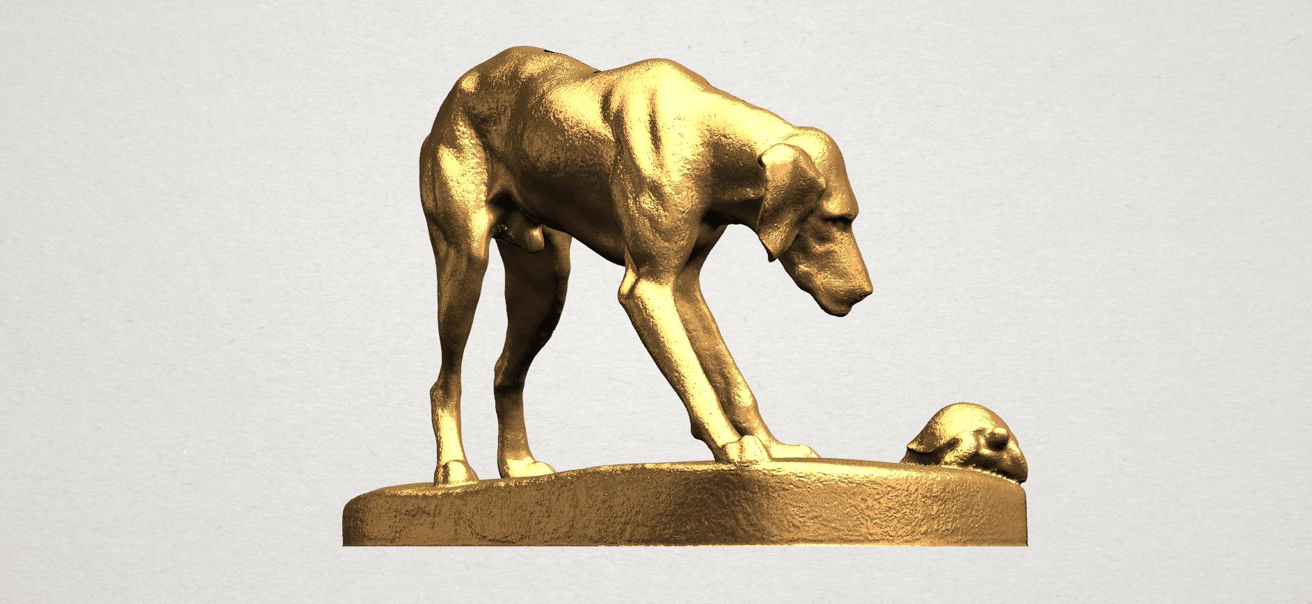 Dog (i) A05.png Télécharger fichier STL gratuit Chien 01 • Plan pour impression 3D, GeorgesNikkei