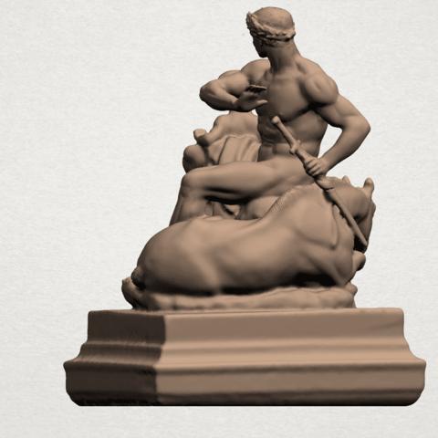 Father and Son (ii) A04.png Télécharger fichier STL gratuit Père et Fils 02 • Plan à imprimer en 3D, GeorgesNikkei